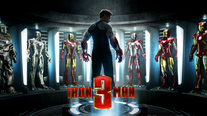 Iron Man 3 Suits of Armor HD Wallpaper