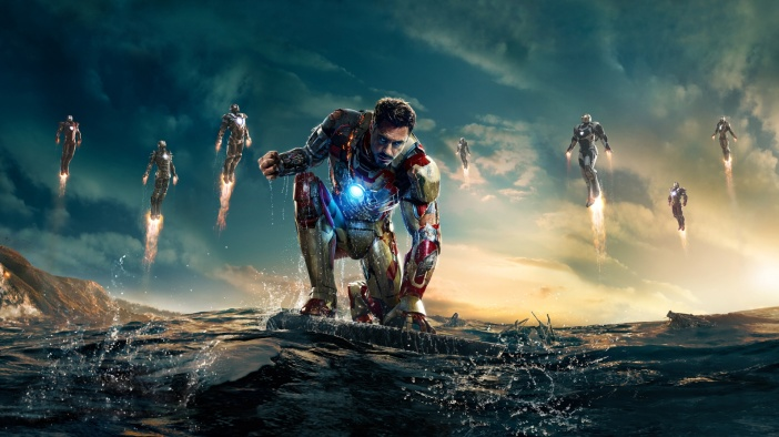 iron man action wallpapers